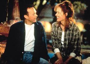 Liebe über Parteigrenzen hinweg: Michael Keaton und Geena Davis