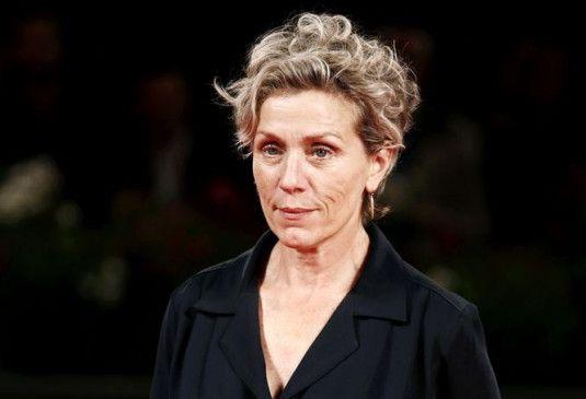 Die Frau mit dem unverkennbaren Gesicht: Frances McDormand.