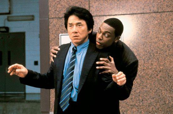 Lange halt ich das aber nicht aus! Jackie Chan (l.) und Chris Tucker