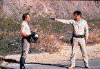 In der Wüste Kaliforniens kommt es zwischen Sheriff Brodie (Tom Skerritt. r.) und Serienmörder Donnelly (Michael Parks) zum Showdown.