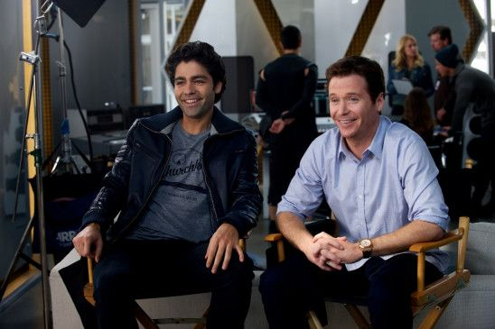 ADRIAN GRENIER as Vince and KEVIN CONNOLLY as Eric