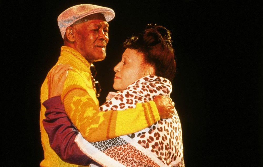 Ibrahim Ferrer mit Omara Portuondo