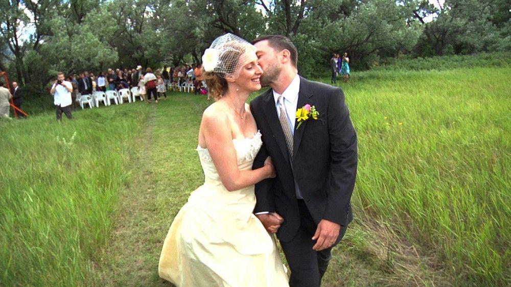 Heather und Sams Hochzeit