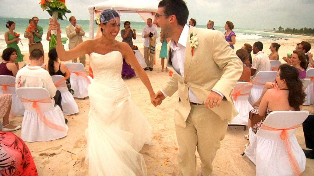 David und Galinas Hochzeit
