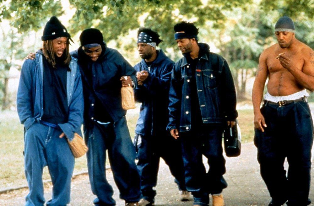 Eine Gruppe von Rappern