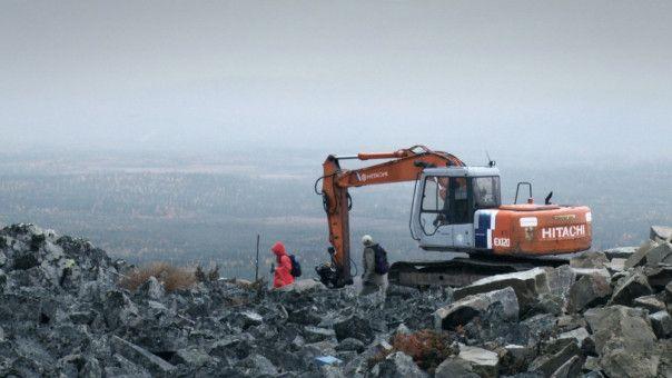 """""""Immer, wenn etwas gebaut wird, wird auch Natur zerstört, das ist unvermeidlich."""", so der Bürgermeister von Salla."""