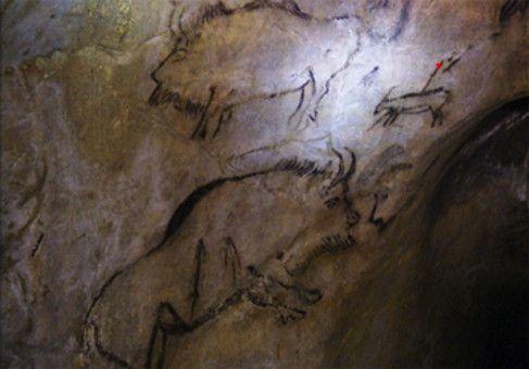 Prähistorische Felskunst in der Höhle von Niaux