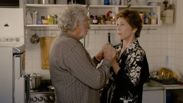 Verzweifelt muss Jeanne (Jane Fonda) mit ansehen, wie ihr der demente Albert (Pierre Richard) allmählich entgleitet.