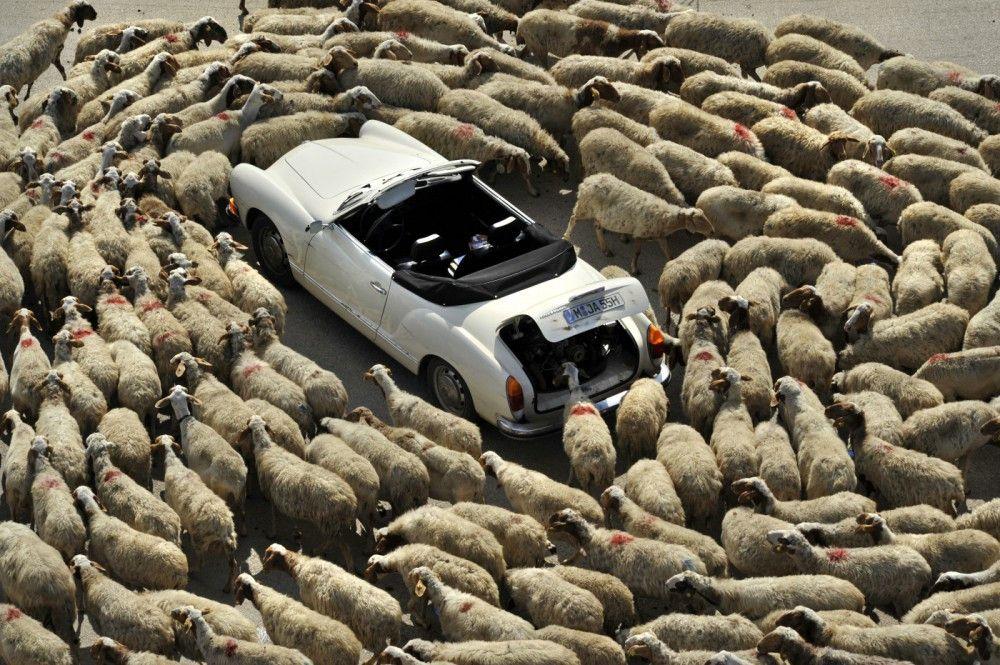 """Jan (Christian Ulmen) ist auf der Flucht """" doch auf den Straßen Süditaliens will ihm  diese nicht recht gelingen."""