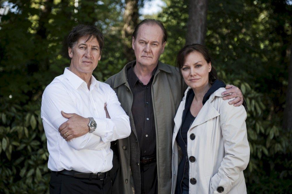 Tobias Moretti (Rolle Joseph Pieters), Peter Haber (Rolle Bruno van Leeuwen), Maja Maranow (Simone van Leeuwen).