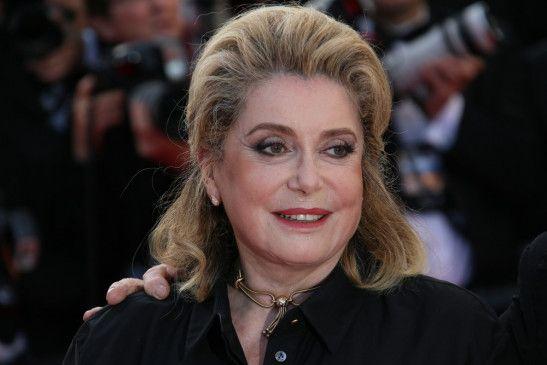 Die Grande Dame des französischen Films: Catherine Deneuve.