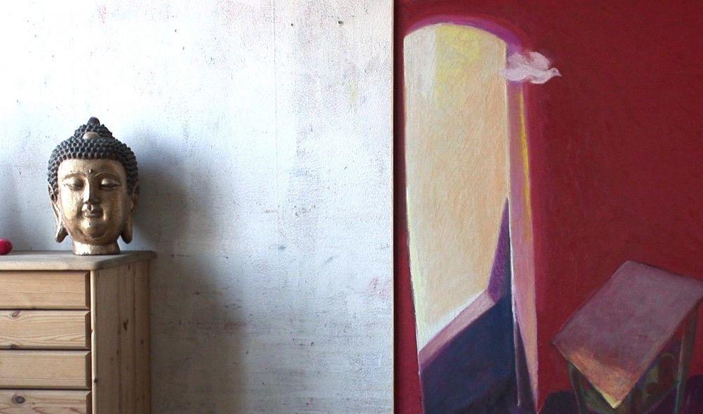 Portrait über den Dresdner Maler Eberhard von der Erde.