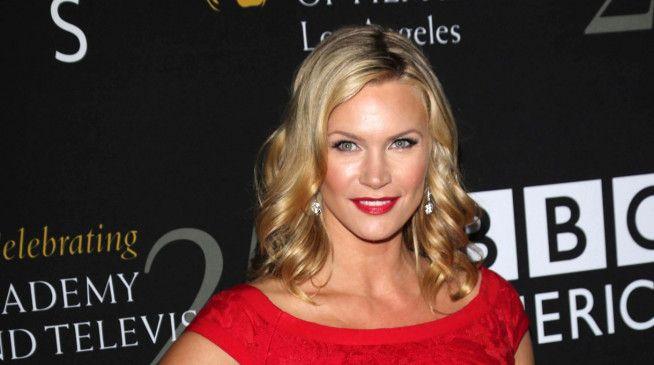 Model und Schauspielerin: Natasha Henstridge.