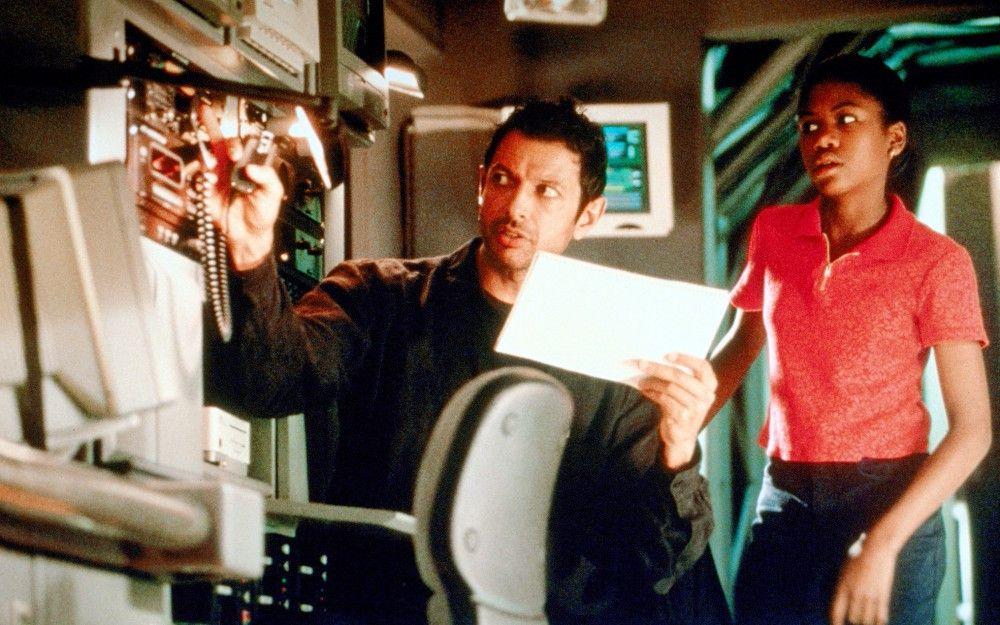 Jeff Goldblum, Vanessa Lee Chester.