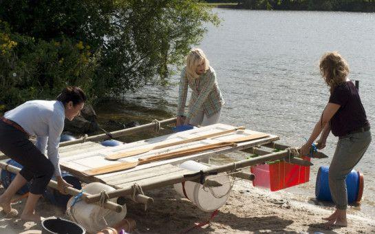 Christine Neubauer (Doris Goldstein-Wagner), Gesine Cukrowski (Katja Severin), Birge Schade (Anke Kerner).