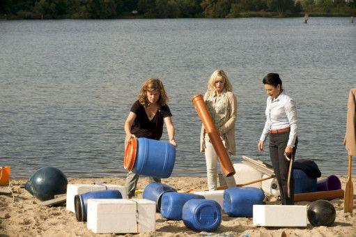 Birge Schade (Anke Kerner), Gesine Cukrowski (Katja Severin), Christine Neubauer (Doris Goldstein-Wagner).