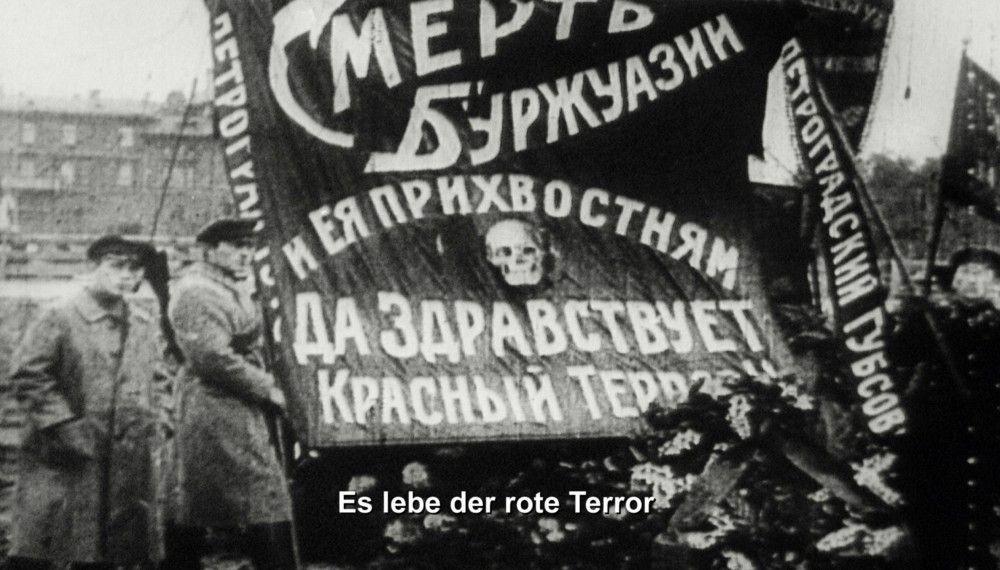 Der russische Terror im Vormarsch.