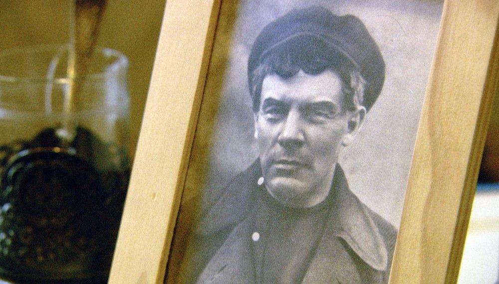Lenin mit Perücke