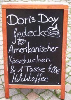 Doris Day-Gedeck in der Stadt ihres Großvaters: Warendorf