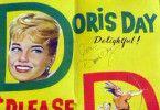 Signiertes Filmplakat: Love Doris Day