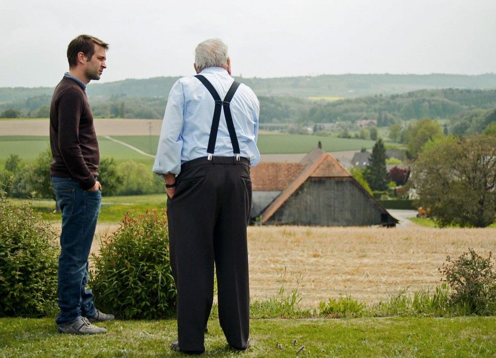 Der Filmemacher Simon Baumann (l.) auf der Suche nach dem Lebensgefühl seiner Vorfahren