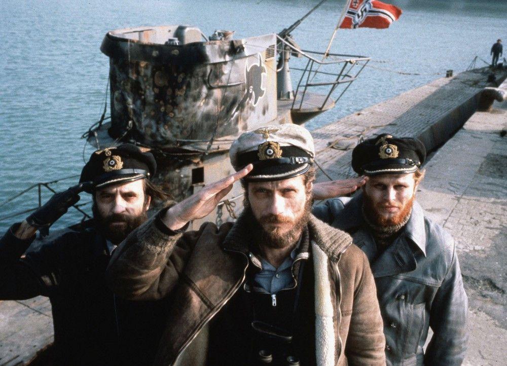 Aufbruch: Klaus Wennemann als Chefingenieur Fritz Grade, Jürgen Prochnow als Capt.-Lt. Henrich Lehmann-Willenbrock, Herbert Grönemeyer als Lt. Werner