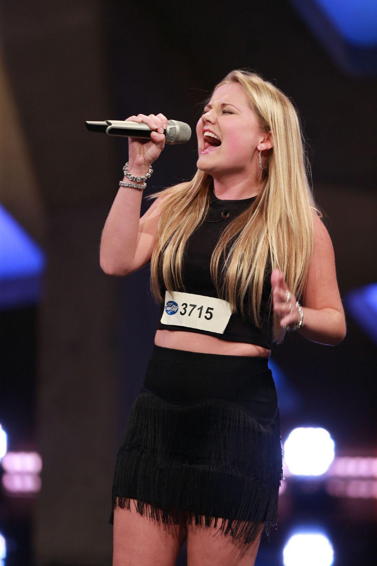 """Die 18-jährige Laura van den Elzen kommt aus den Niederlanden und singt """"Total Eclipse Of The Heart"""" von Bonnie Tyler."""