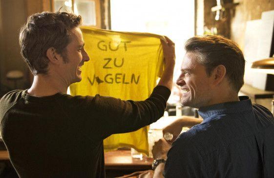 Der alte T-Shirt Spruch der Freunde (Max von Thun, Max Giermann) funktioniert immer noch.
