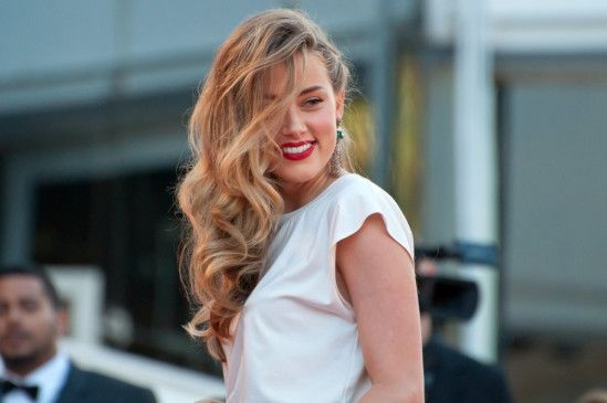 Blond und sexy: Amber Heard.