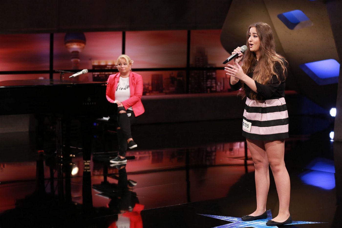 """Ihre Mutter Ellada hat bereits vor vielen Jahren in der Vorgruppe für """"Modern Talking"""" in Kasachstan gesungen."""