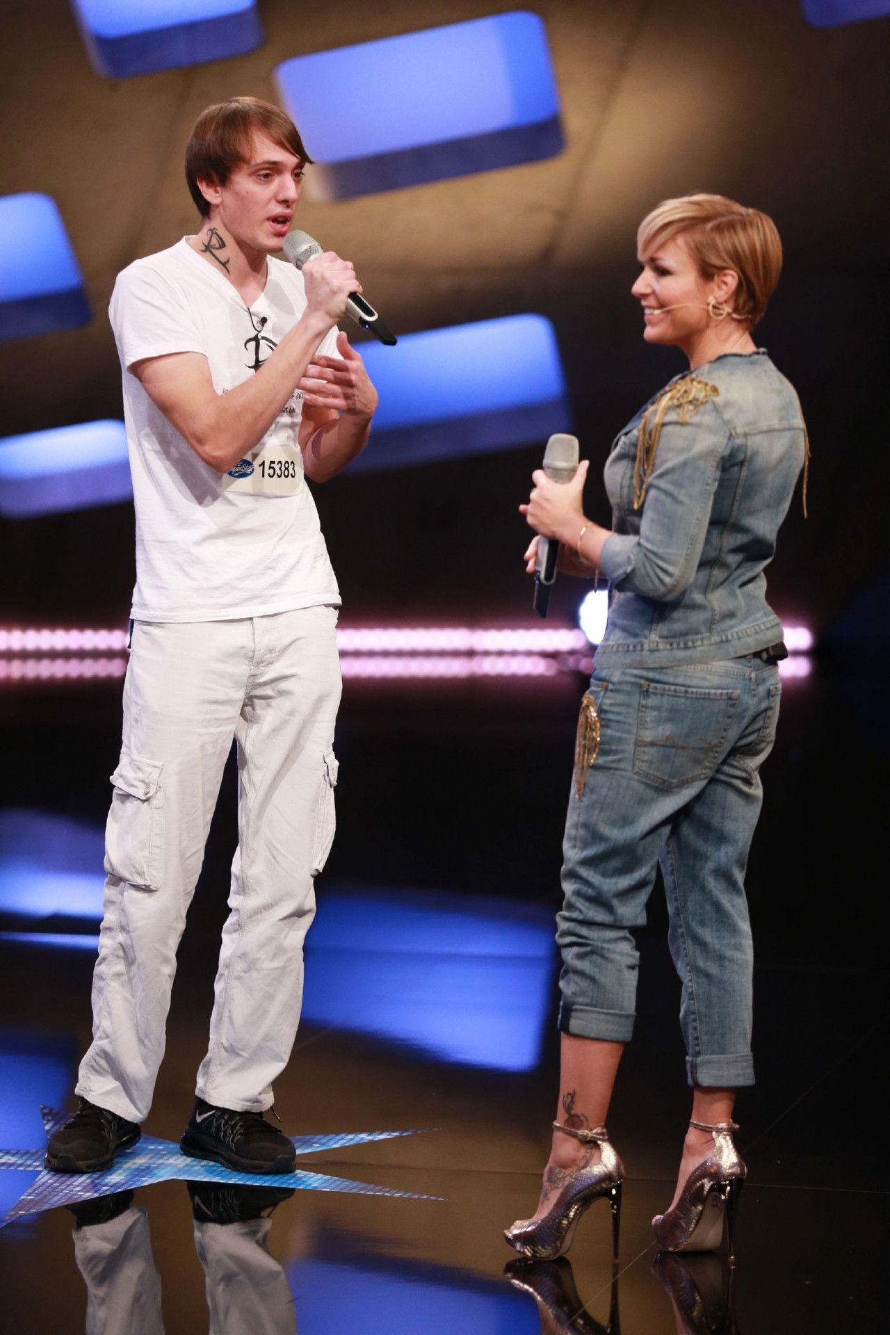 """Zum Casting hat er den Song """"Du Idiot"""" von Michelle und Matthias Reim mitgebracht. Und Michelle singt gerne mit."""