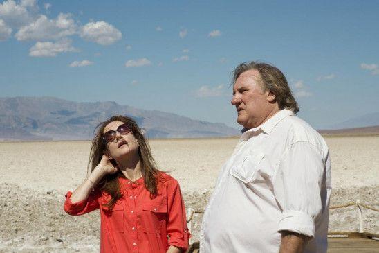 Die Leere, die Hitze, die Wüste, die Distanz (Isabelle Huppert und Gérard Depardieu)