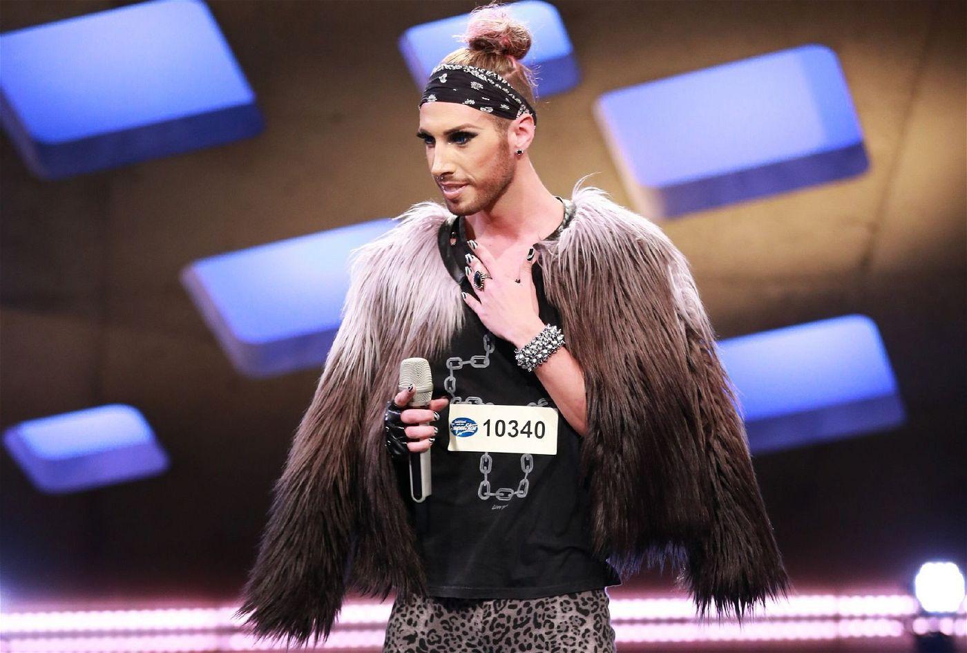 """Walter Zauner erinnert optisch an eine Mischung aus ESC-Gewinnerin Conchita Wurst und """"Tokio Hotel""""-Sänger Bill Kaulitz."""