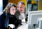 Gemeinsame Recherche: Maren Eggert und Axel Milberg