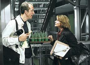 Was will der Schreiberling von uns? Rudolf Krause und Senta Berger