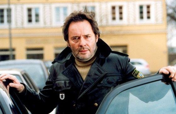 Seh ich etwa aus wie ein Polizist? Uwe Kockisch