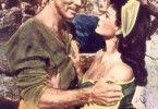 Burt Lancaster geht ran - Eva Bartok befremdet's  (zunächst)