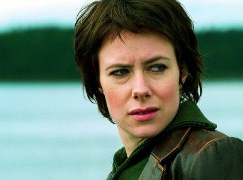 Eva Rexed in der Rolle der Kommissarin Eva Moreno