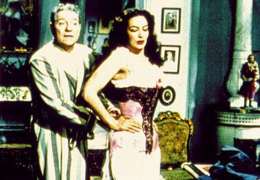 Danglard (Jean Habin) und seine Mätresse (Maria Félix)