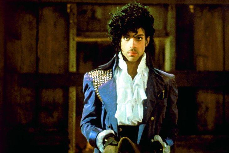 Eine extravagante Erscheinung: Prince