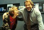 Götz George (r.) und Alexander Scheer scheinen sich  gut zu amüsieren. Der Zuschauer jedoch nicht...