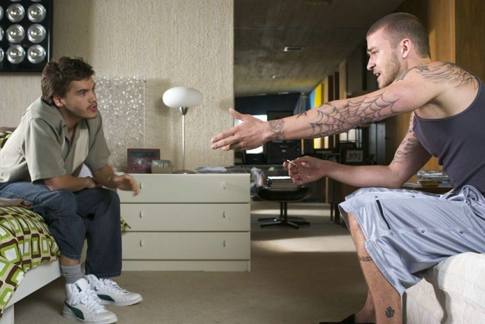Wer dealt gewinnt! Justin Timberlake (r.) und Emile Hirsch