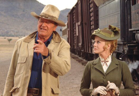 Wo ist denn das verdammte Gold? John Wayne und Ann-Margret