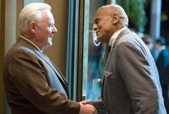 Zwei langjährige Freunde: Anthony Hopkins und Harry Belafonte