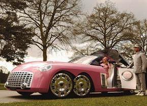 Mit pinkfarbener Karosse auf Gangsterjagd: die Thunderbirds