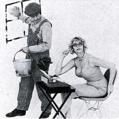 Soll ich den Balkon auch noch putzen? Jim Ryan und Eve Meyer