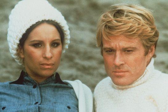 Katie (Barbara Streisand) und Hubbell (Robert Redford) führen eine schwierige Ehe