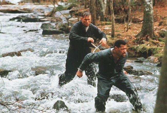 Ja, wo laufen sie denn?! Laurence Fishburne (r.)  und Stephen Baldwin