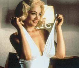 Und jetzt wird's spaßig! Theresa Russell als Marilyn