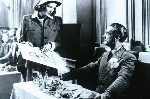 Sehen Sie, hier steht's: Ich bin Laura! Gene  Tierney und Clifton Webb